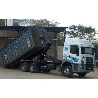 Caminhão Roll On para Transporte de Resíduos