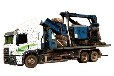 Transportes de equipamentos pesados